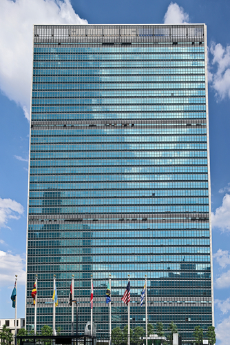 Photo Credit Shutterstock: United Nations Building