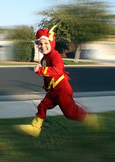 superhero kidflash