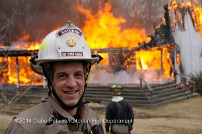 Katonah Fire Department Live Burn Training