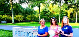 Susan, Deborah and Harriet, demanding that Pepsico TELL THE TRUTH and ACT ON  IT!
