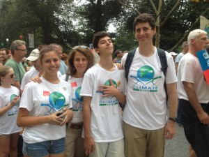 My family at the 2014 NYC Peoples Climate March