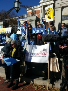 November 19, 2014 Day 3 of protests at Massachusetts State House