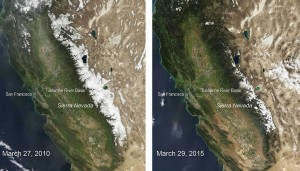 California Snow Pack Comparison- photo credit wikimedia commons